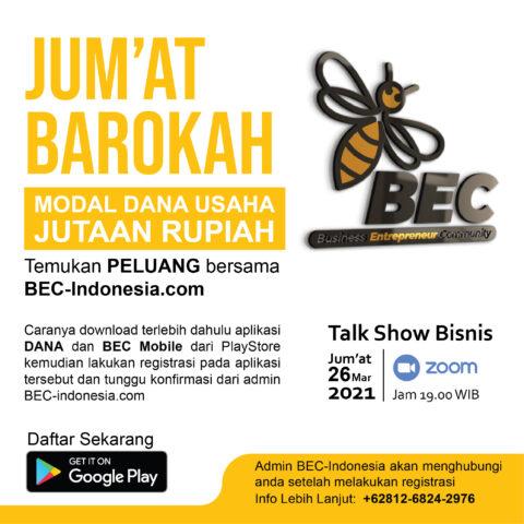 MODAL DANA USAHA | BEC-Indonesia.com